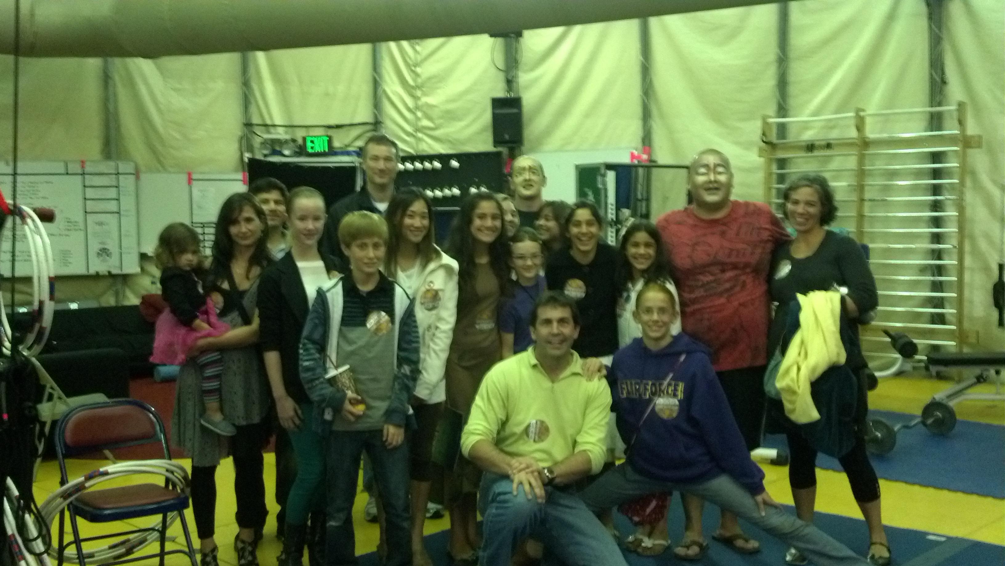 SDCC Students visit Cirque du Soleil's TOTEM