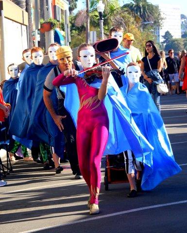 La Jolla Art and Wine Festival Day 1