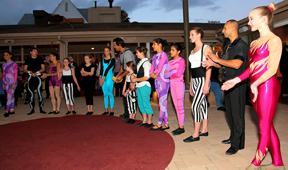 San Diego Circus Center performs for the La Jolla Community Center