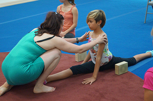 Flexibility Class at San Diego Circus Center