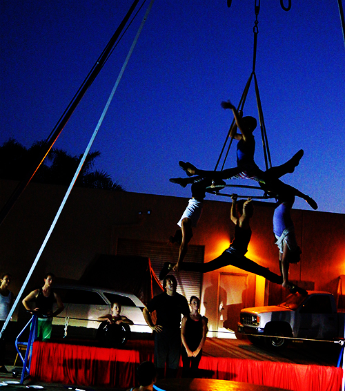 San Diego Circus Center performs at LAWF this weekend