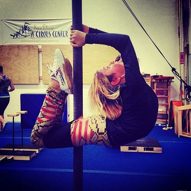 Chines pole and Contortion